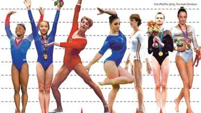 Té goed om 'te groot' te zijn: hoe Nina Derwael grootste wereldkampioene turnen werd