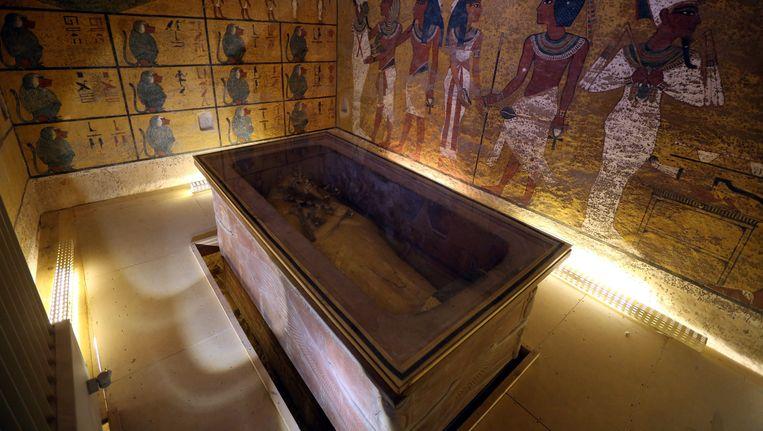 De graftombe van Toetanchamon in Luxor Beeld epa