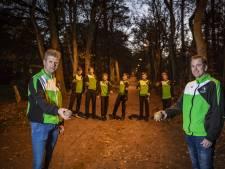 Zelfs de vleermuizen zijn blij met de baanverlichting van de klootschieters van Oud-Ootmarsum