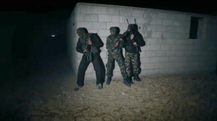 Team Gaza. Beeld x