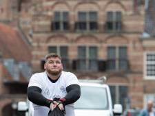 Op Sandy's gympen evenaart Fabrienne snelste tijd in Zutphen