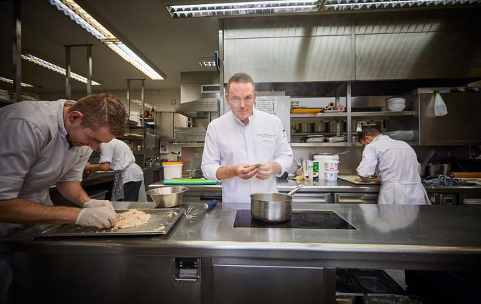 Inductie is vooruitgang, zegt chef-kok Erik van Loo.