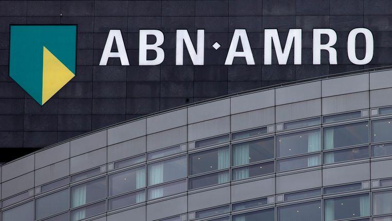 Het ABN AMRO-hoofdkantoor Amsterdam. Beeld AP