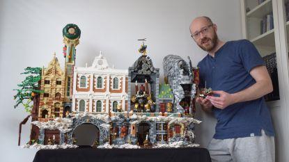 """Kandidaat-LEGO MASTER David (43) vond heil in de blokjes: """"Ik zat thuis met burn-out, en toen begon ik weer te bouwen..."""""""