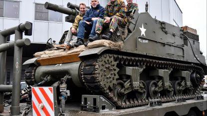 Militaire voertuigen uit WO II te bewonderen op herdenking Wapenstilstand
