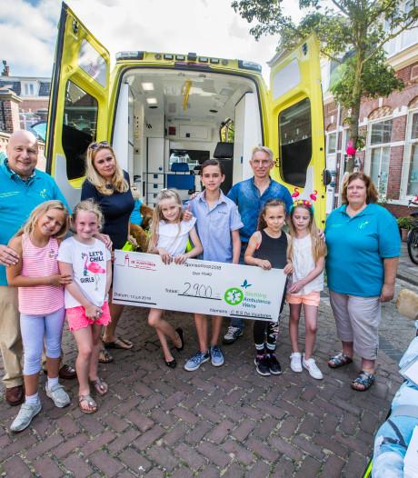 Anthony laat de hele school rennen voor stichting die doodzieke opa hielp