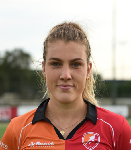 Vrouwen Oranje-Rood beginnen te laat goed te hockeyen