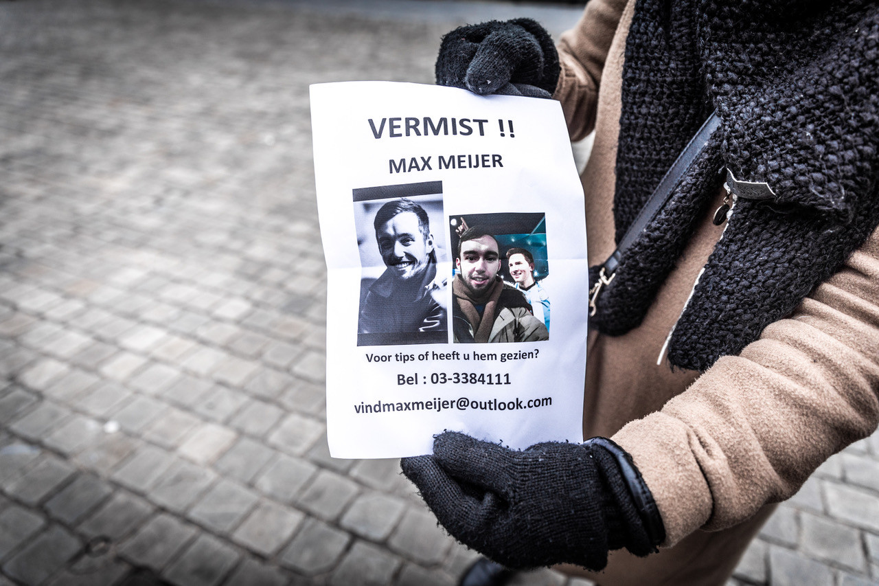 Vermissing Max Meijer. Foto's gekregen van HLN