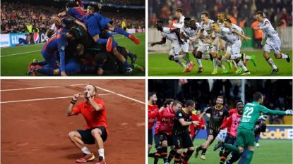 """""""Het mirakel is geschied! Het is waanzin!"""" Bij deze onwaarschijnlijke taferelen gingen sporters en fans he-le-maal uit de bol"""