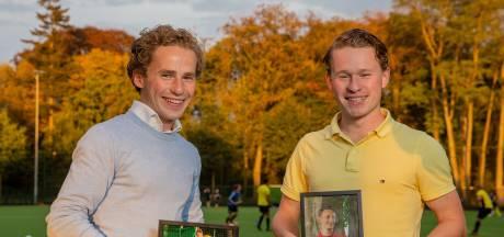 Bart en Hans gingen vol voor de marathon van Berlijn en lopen nu in Vessem als eerbetoon aan hun overleden broer Geert
