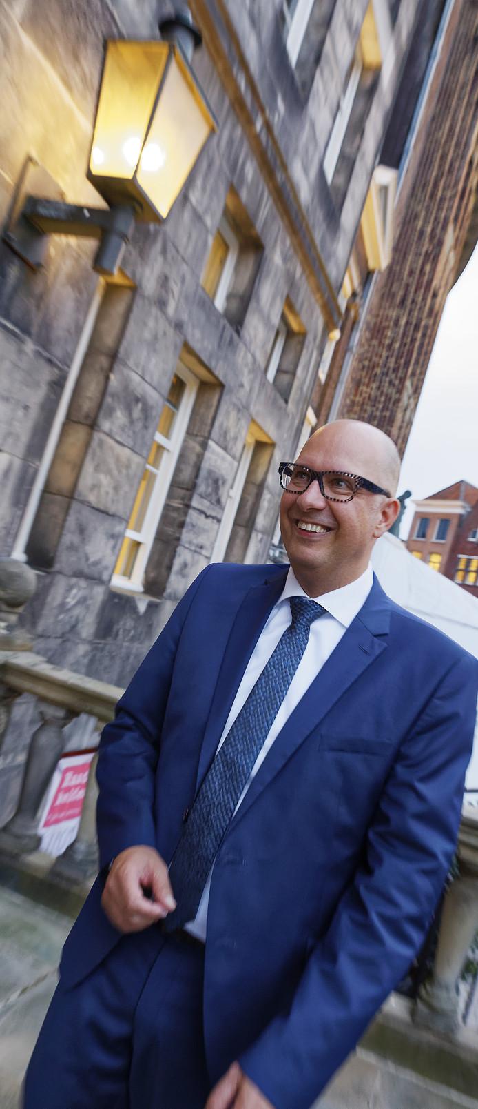 Jack Mikkers de nieuwe burgemeester van Den Bosch.