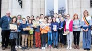 Twintig laureaten Junior Journalisten in de bloemen