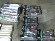 Politie pakt 26 kilo illegaal vuurwerk af in Tholen