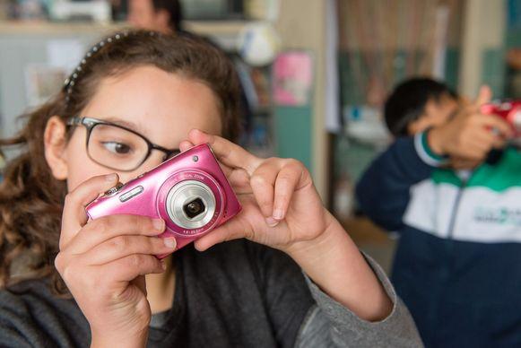 Het bijzondere is dat de kinderen de fotograaf zijn.