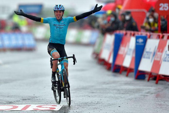 Ion Izagirre won dit jaar een etappe in de Vuelta.