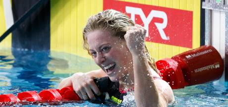 Kira Toussaint wint goud op 100 meter rugslag bij EK kortebaan