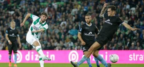 Onmachtig PEC Zwolle kan FC Groningen geen moment verontrusten: 2-0