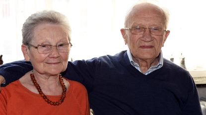 Fortuné en Léa 60 jaar gehuwd