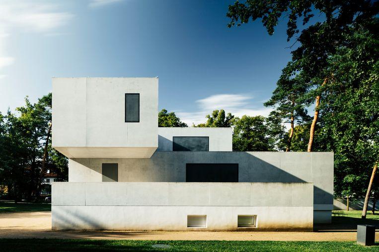 Meisterhäuser van Gropius in Dessau. Beeld