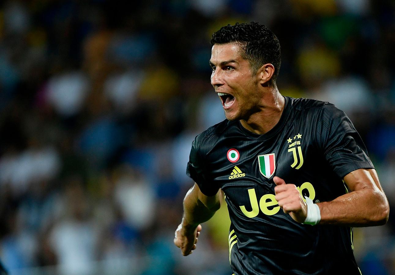 Cristiano Ronaldo was vanavond niet bij het FIFA-gala in Londen.