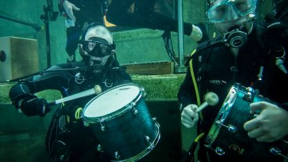 Dertig muzikanten met beperking geven onderwaterconcert op tien meter diepte, nu hopen op plek in Guiness Book of World Records
