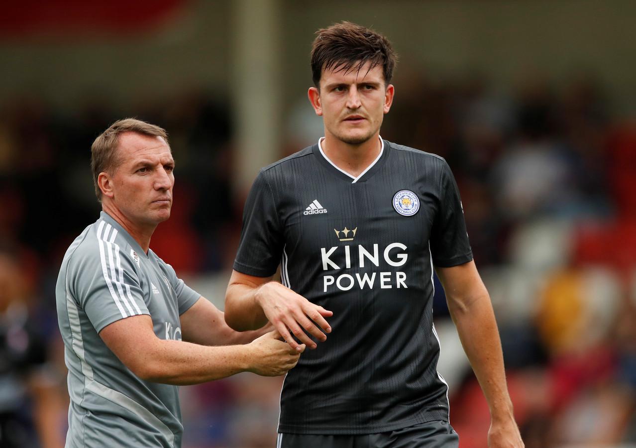 Harry Maguire lijkt niet meer te houden voor Leicester City-coach Brendan Rodgers.