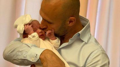 """Thomas Buffel verwelkomt eerste dochtertje: """"Nu al mama's hartendief"""""""