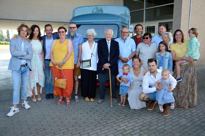 Gerard Berteloot en zijn familie.