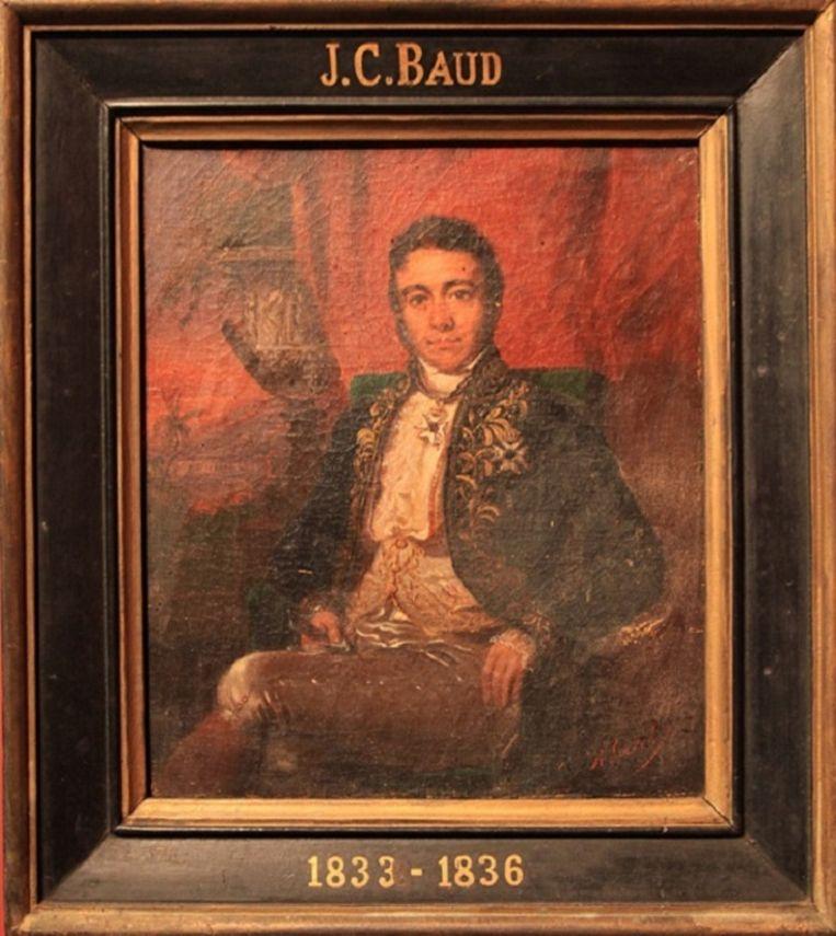 Jean Chrétien Baud Beeld Geschilderd door: Raden Saleh