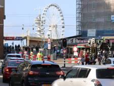 Den Haag houdt dit zonnige weekend goed in de gaten of er niet te veel mensen naar het strand komen