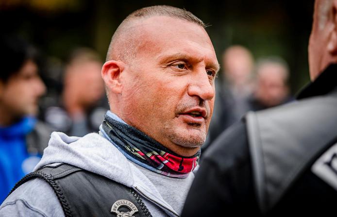 Klaas Otto, oprichter van No Surrender en voormalig baas van de motorclub.