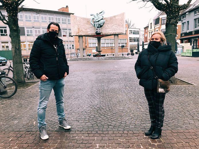 Gert Cardon en Anja Eylenbosch.