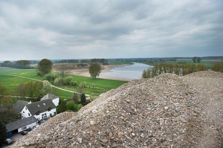 'Groen voor grind' is de slogan in Zuid-Limburg. Beeld null