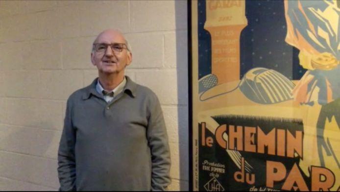 Walter Vander Cruysse, eigenaar van Studio Skoop, neemt afscheid van zijn publiek.