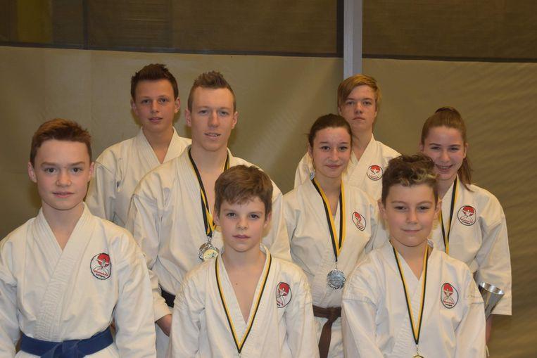 De deelnemers aan het Oost-Vlaams kampioenschap.