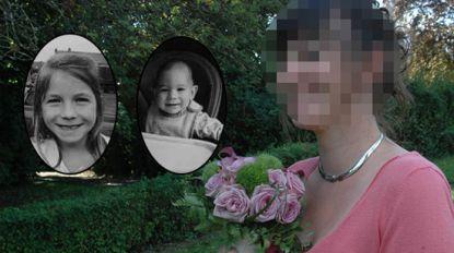 Emotioneel afscheid van Cérès (7) en Orphée (18 maanden) die gedood werden door hun moeder