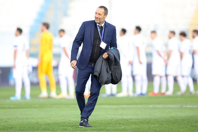 John van 't Schip kan met de Grieken de alternatieve route naar het WK van 2022 in Qatar openen bij winst op Slovenië.