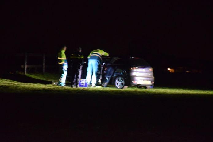 Politie en ambulance konden het slachtoffer niet meer redden in Groesbeek.