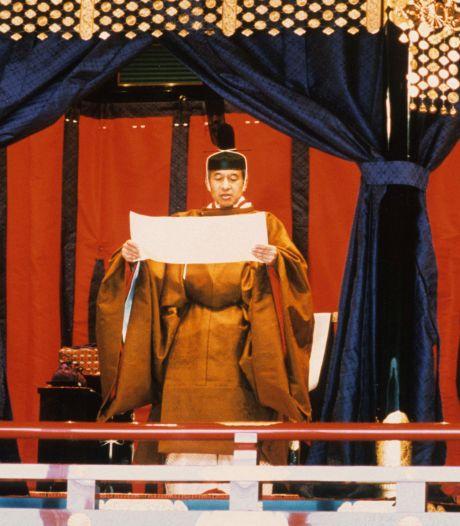 Banzai, banzai, banzai! Zo wordt dinsdag de nieuwe Japanse keizer ingehuldigd
