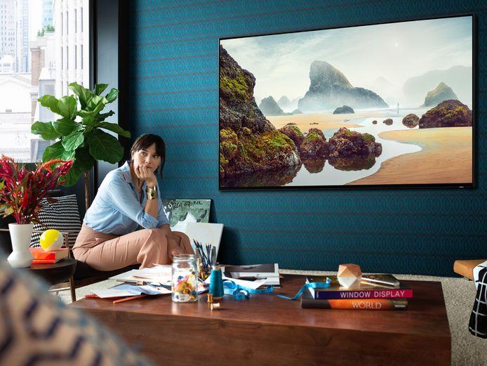 8K-tv's, zoals deze van Samsung, hebben een beeld dat er levensecht uitziet.
