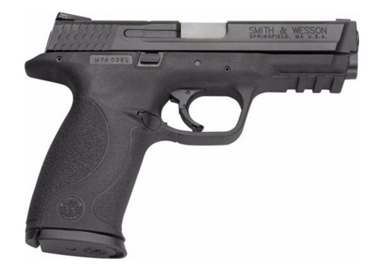 Een pistool van Smith & Wesson.
