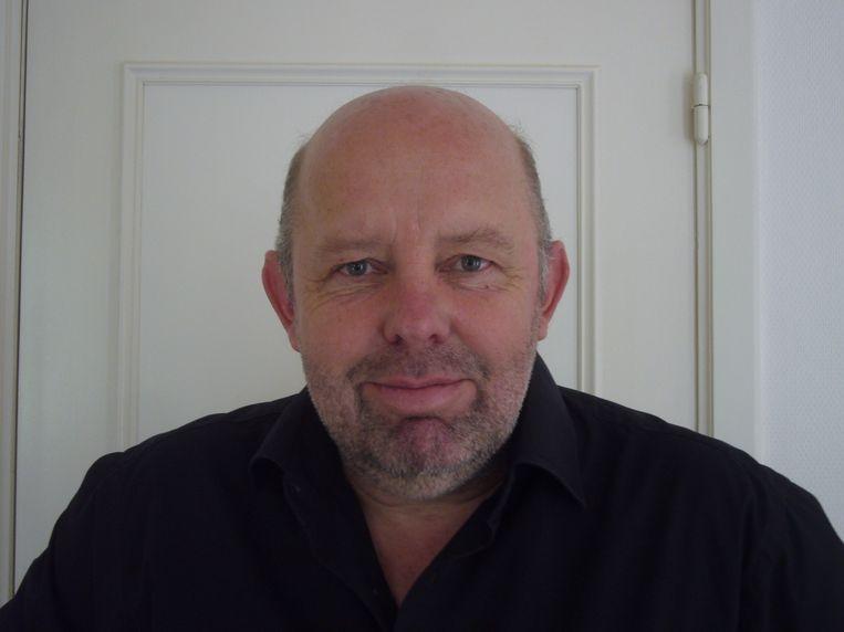 Volkskrant buitenlandcorrespondent Bert Lanting. Beeld -