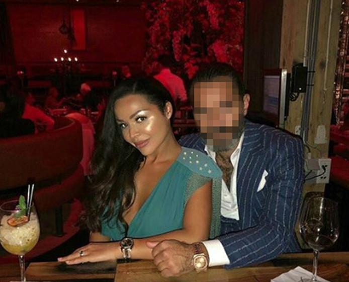 Amanda en haar echtgenoot.