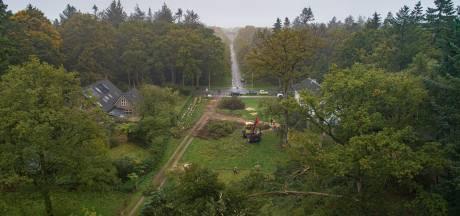 Na kap 18 bomen weer 2 kilometer kijken van kasteel Eerde bij Den Ham tot Ommer 'woeste gronden'