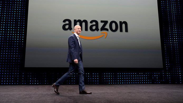 Jeff Bezos, le patron d'Amazon.