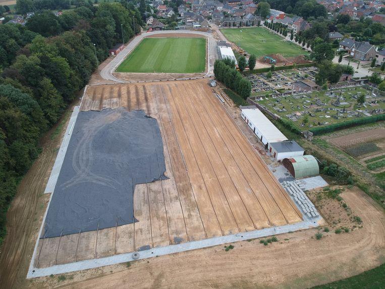 In Sportpark De Vrede kunnen jonge voetballertjes een voetbalacademie volgen.