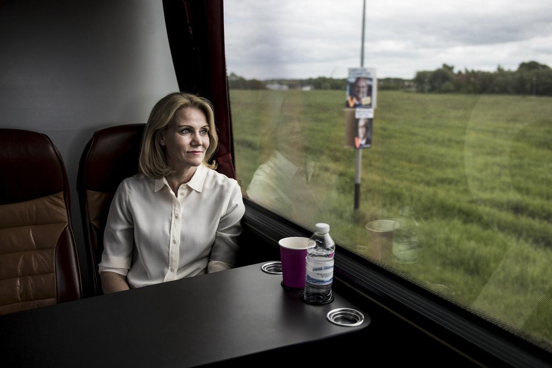 De voormalige premier van Denemarken, Helle Throning-Schmidt, is een van de leden van de nieuwe Facebookraad.  Beeld REUTERS