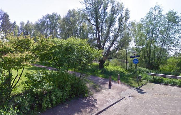 Het Generaal Spoorpad in Dordrecht.