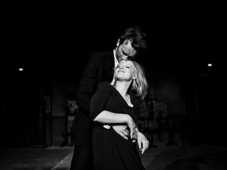 Joanna Kulig en Tomasz Kot in de film Cold War. Beeld