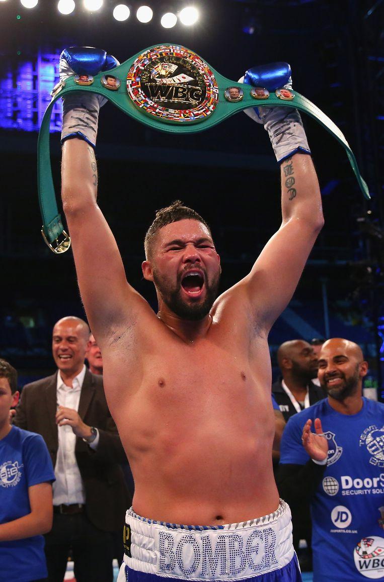 Tony 'The Bomber' Bellew pakte vorig jaar in mei de titel in het WBC Cruiserweight.